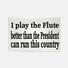 Flute Rectangle Magnet