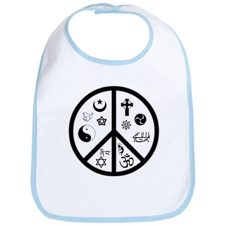 Peaceful Coexistence Bib