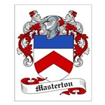 Masterton Family Crest Small Poster