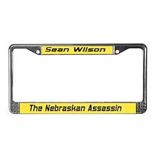 Cute Nebraskan License Plate Frame