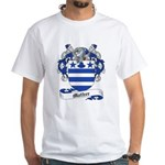 Mather Family Crest White T-Shirt