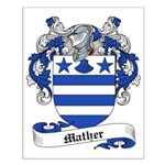 Mather Family Crest Small Poster