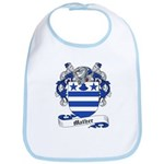 Mather Family Crest Bib