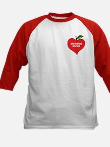 Heart Apple 3rd Grade Rocks Tee