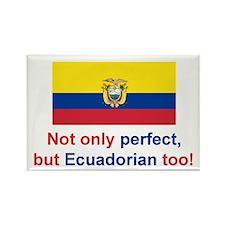 Perfect Ecuadorian Rectangle Magnet