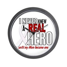 Never Knew A Hero 2 PEARL (Mom) Wall Clock