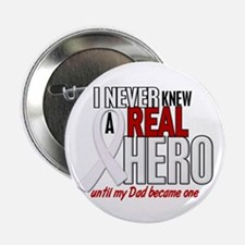 """Never Knew A Hero 2 PEARL (Dad) 2.25"""" Button"""