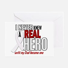 Never Knew A Hero 2 PEARL (Dad) Greeting Card