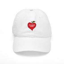 Heart Apple 5th Grade Rocks Baseball Cap
