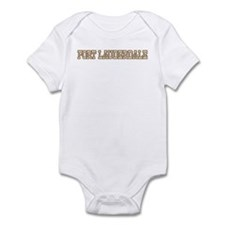 fort lauderdale (western) Infant Bodysuit