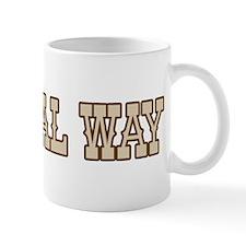 federal way (western) Mug