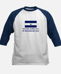 Perfect El Salvadorian Kids Baseball Jersey