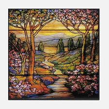 Tiffany Landscape Tile Coaster