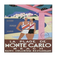 Monte Carlo Art Deco Tile Coaster