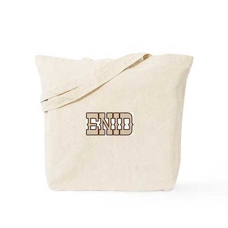 enid (western) Tote Bag