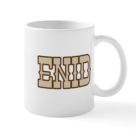 enid (western) Mug