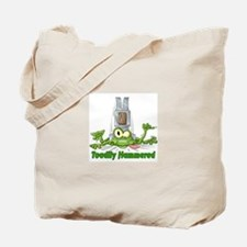Toadily Hammered Tote Bag