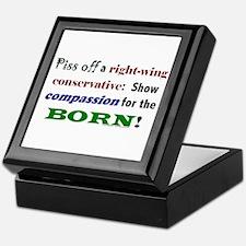 Compassion for the Born! Keepsake Box