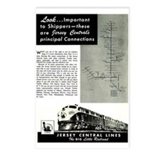 Jersey Central Lines Postcards (Package of 8)