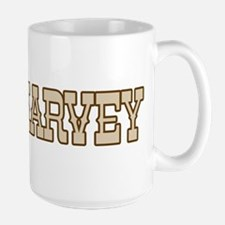 harvey (western) Ceramic Mugs