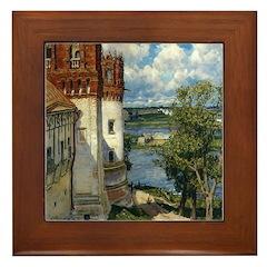 Novodevichy Convent Framed Tile