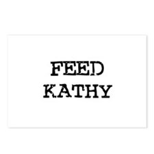 Feed Kathy Postcards (Package of 8)