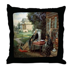 Everything In The Past Throw Pillow