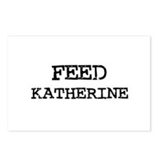 Feed Katherine Postcards (Package of 8)