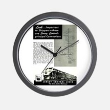 Jersey Central Lines Wall Clock