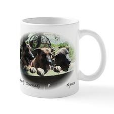 Three German Shepherds, small Mug, elpace