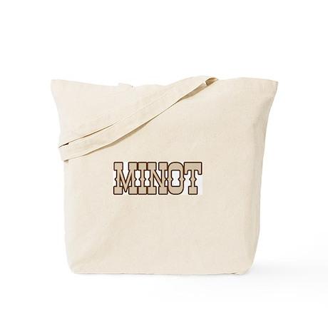 minot (western) Tote Bag