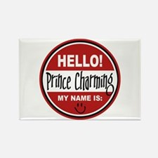 Hello my name is Prince Charming Rectangle Magnet