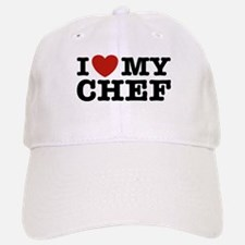 I Love My Chef Baseball Baseball Cap