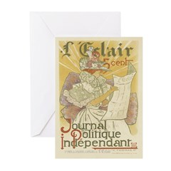 French Vintage Greeting Cards (Pk of 20)
