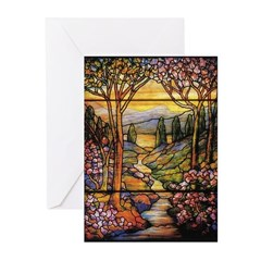 Tiffany Landscape Greeting Cards (Pk of 20)