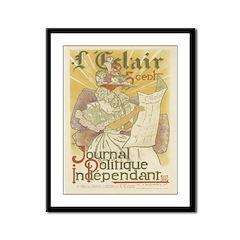 French Vintage Framed Print