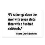 Beckwith Seven Studs Quote Postcards (Package of 8
