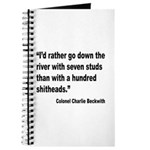 Beckwith Seven Studs Quote Journal