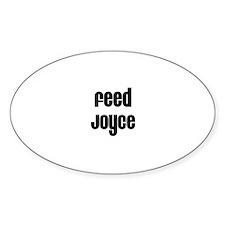 Feed Joyce Oval Decal