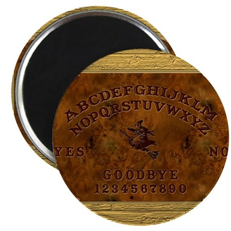 """Ouija Board Witchy 2.25"""" Magnet (10 pack)"""