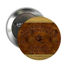 """Ouija Board Witchy 2.25"""" Button (10 pack)"""