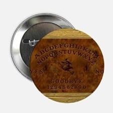 """Ouija Board Witchy 2.25"""" Button"""