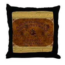 Ouija Board Witchy Throw Pillow