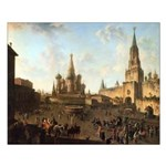 Red Square Moscow Unframed Print
