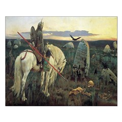 Knight At Crossroads Unframed Print