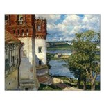 Novodevichy Convent Unframed Print