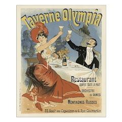 Moulin Rouge Vintage Unframed Print