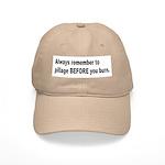 Pillage Before Burning Quote Cap