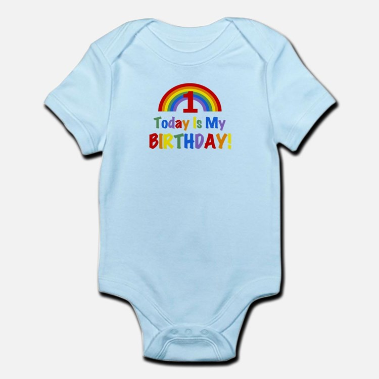 Rainbow - Today Is My Birthday - 1 Body Suit