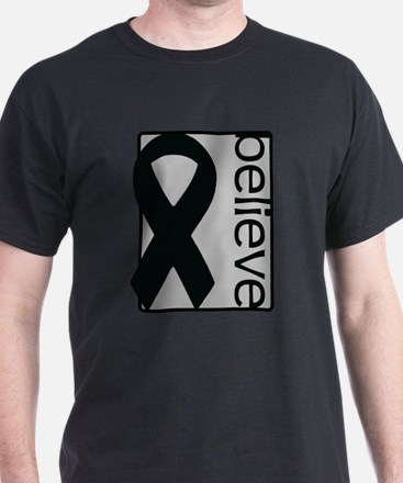 Silver (Believe) Ribbon T-Shirt